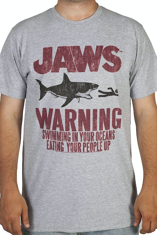 Eating People Jaws Shirt
