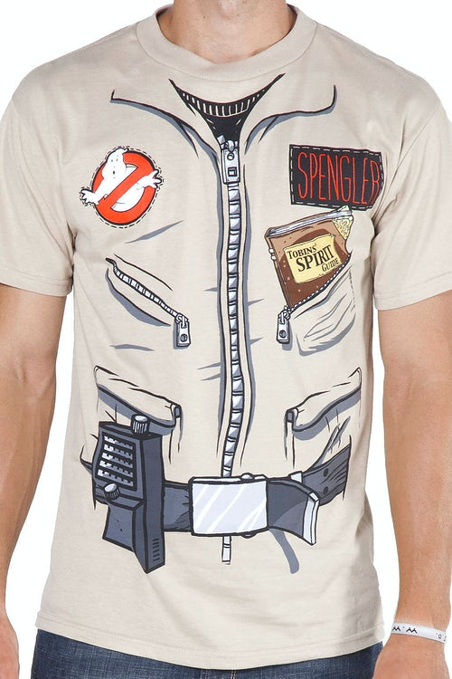 Egon Spengler Ghostbusters Shirt