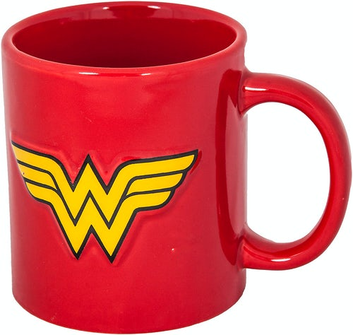 Embossed Wonder Woman Mug
