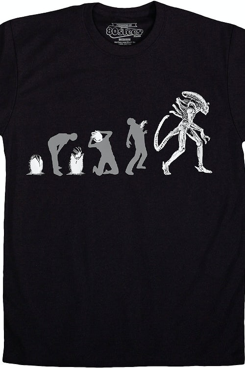 Evolution Alien T-Shirt