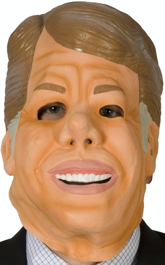 Ex-Presidents Jimmy Carter Mask