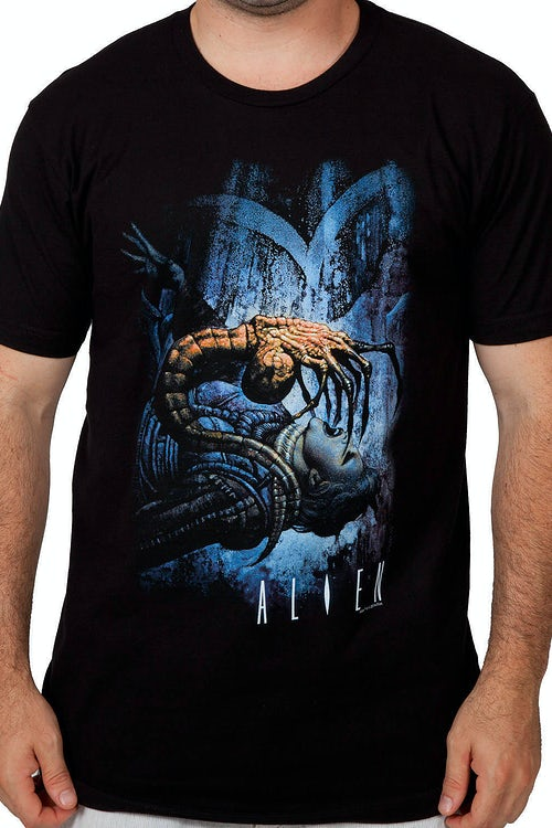 Face Hugger Alien Shirt