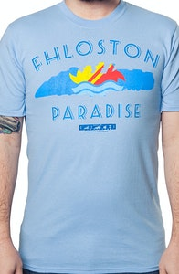 Fifth Element Fhloston Paradise T-Shirt