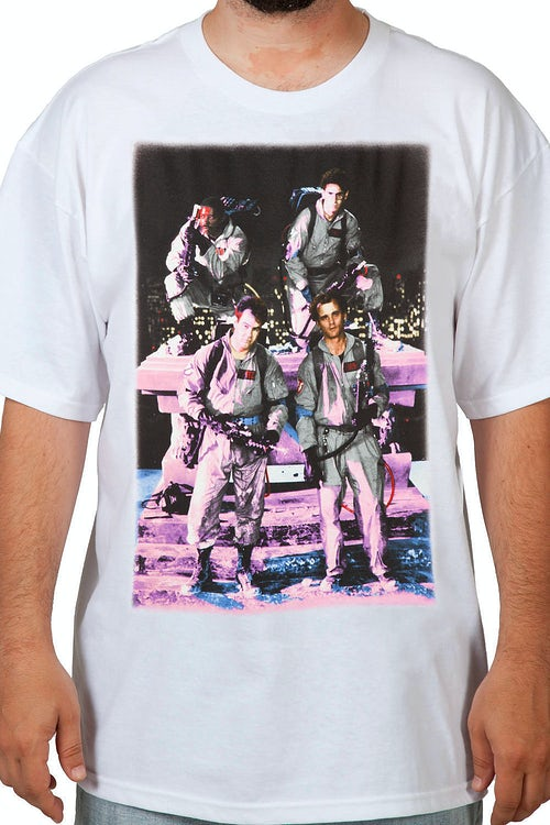 Ghostbusters Group Photo Shirt