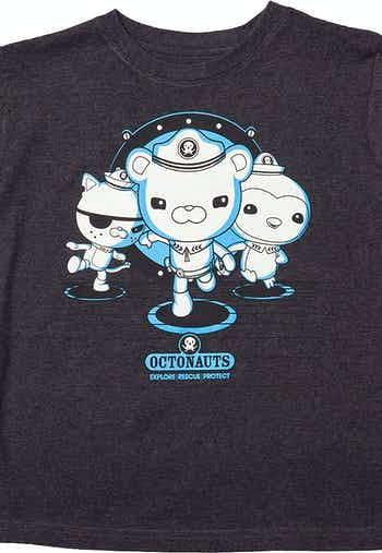 Glow in the Dark Octonauts Launch Bay T-Shirt