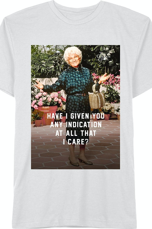 Golden Girls Sophia Don't Care T-Shirt