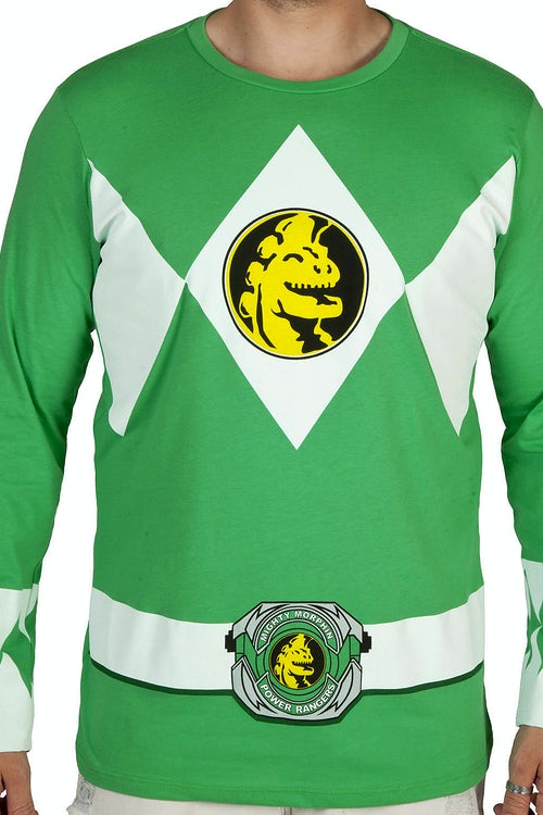Green Ranger Long Sleeve Costume Shirt