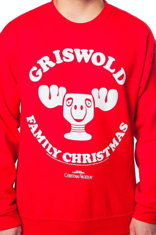Griswold Family Christmas Vacation Moose Mug Sweatshirt