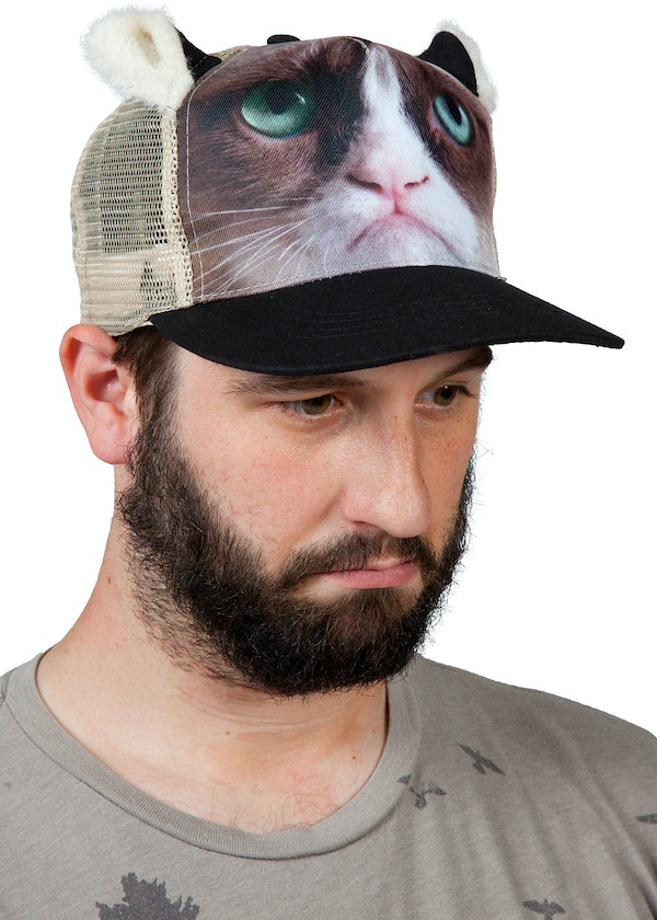 Grumpy Cat Safety Hat
