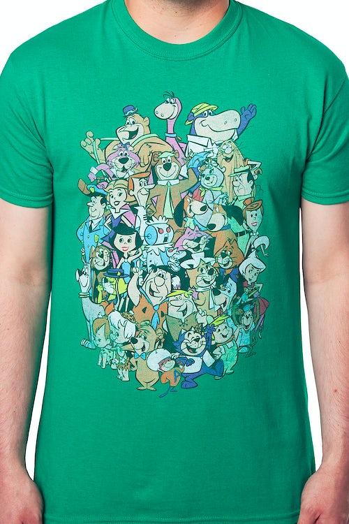 ce6aa216 Hanna Barbera Characters T-Shirt: Hanna Barbera Mens T-Shirt