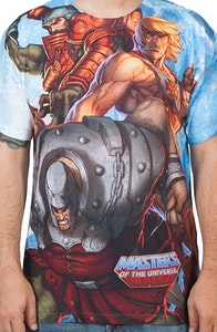 He-Man and The Villains Sublimated Shirt