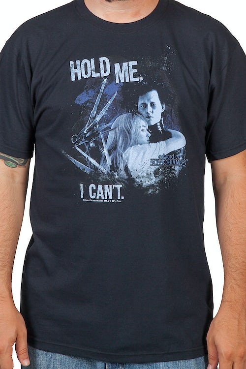 Hold Me Edward Scissorhands Shirt