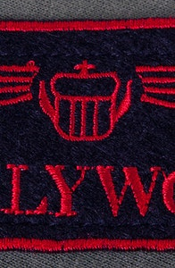 Hollywood Call Name Patch