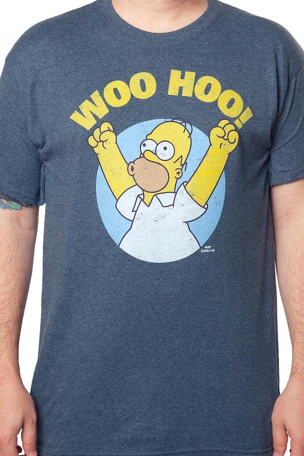 Homer Simpson Woo Hoo T-Shirt