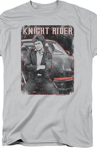 Hood Ornament Knight Rider T-Shirt
