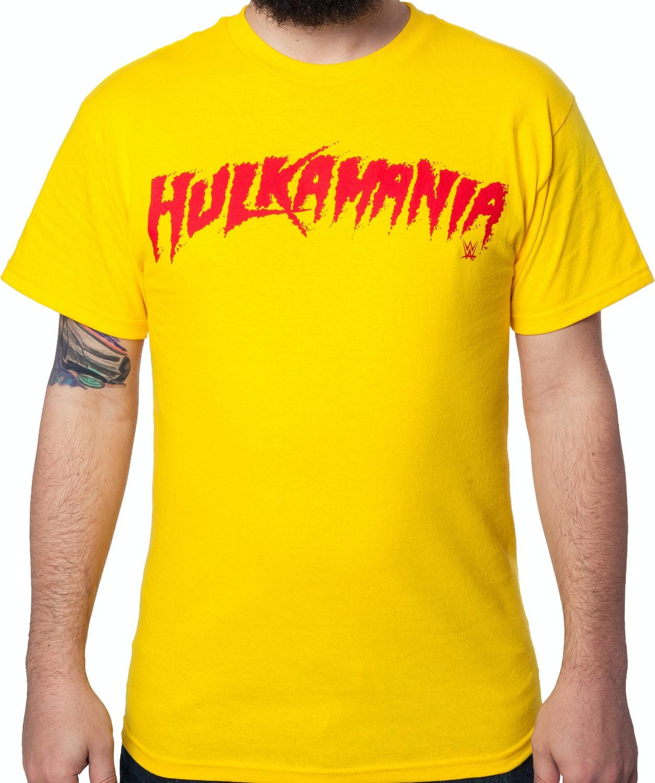 Hulk Hogan Hulkamania T-Shirt  sc 1 st  80s Tees & Hulk Hogan Hulkamania T-Shirt: 80s Wrestling Shirts