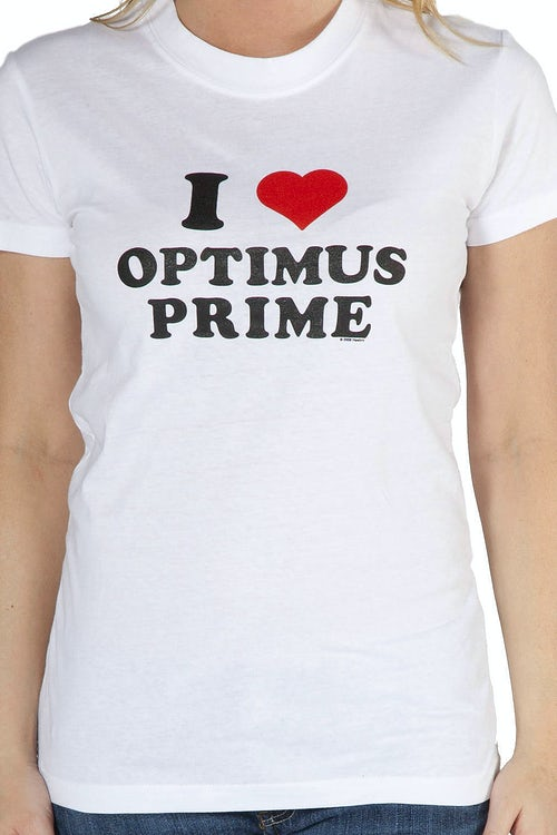I Heart Optimus Prime Transformers T-Shirt