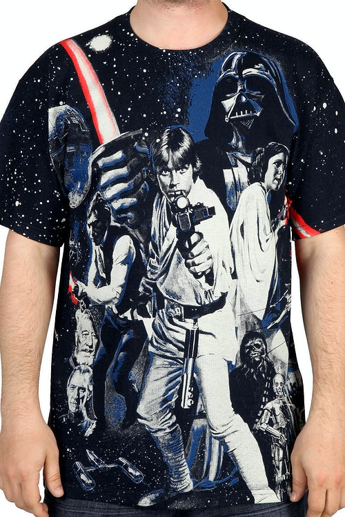 In A Galaxy Far Far Away Star Wars Shirt
