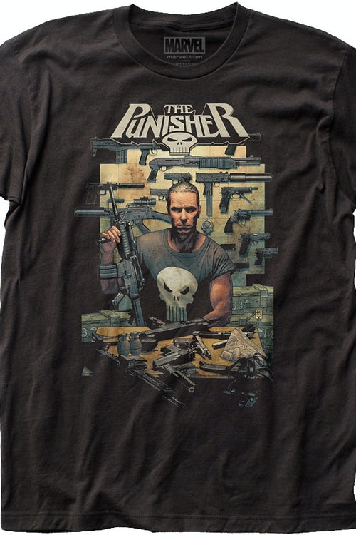 In The Beginning Punisher T-Shirt