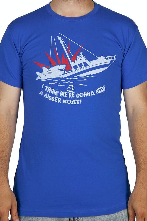 JAWS Gonna Need A Bigger Boat T-Shirt