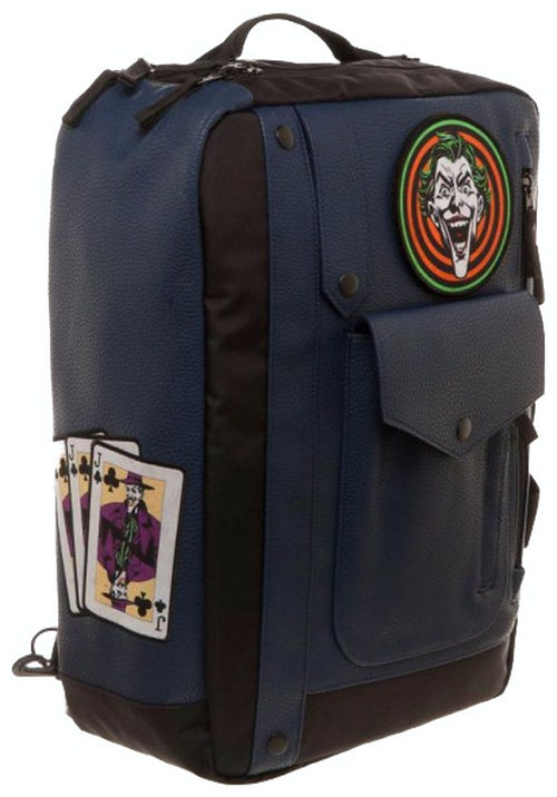 Joker Convertible Batman Backpack