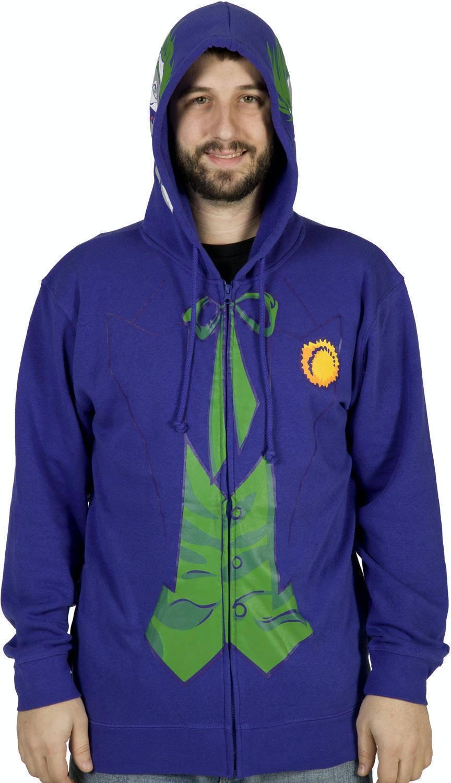 sc 1 st  80s Tees & Joker Costume Hoodie