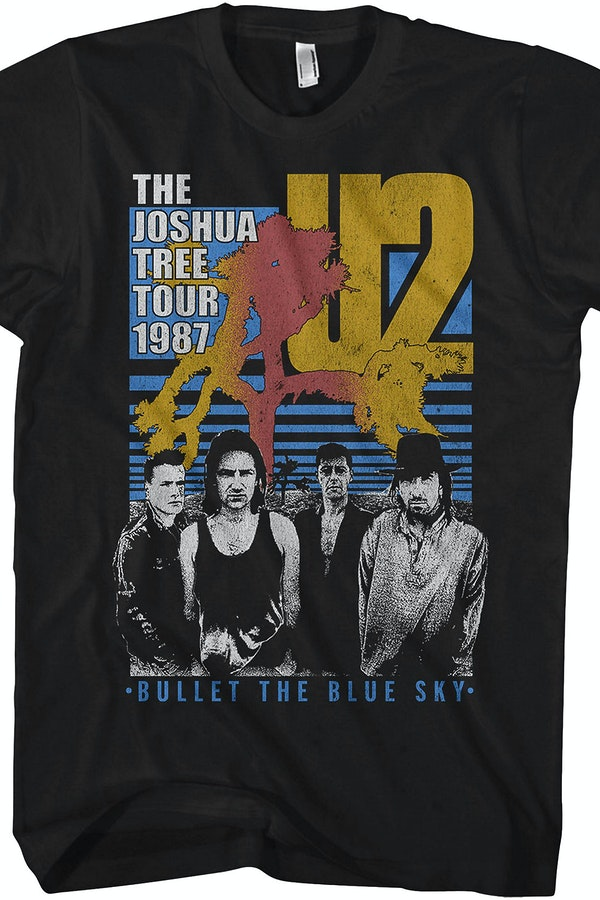 Joshua Tree Tour U2 T-Shirt