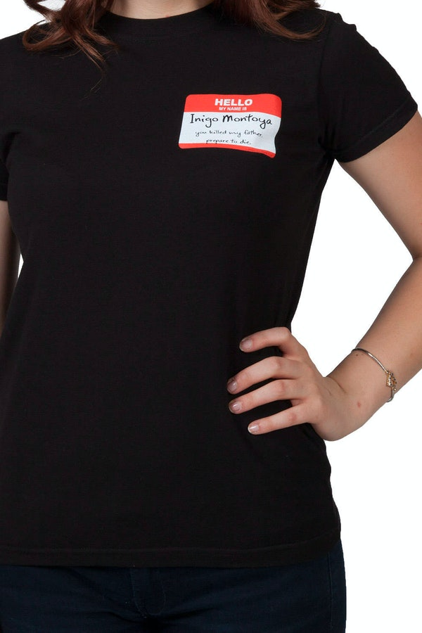 Jr Name Badge Princess Bride T-Shirt