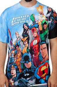Justice League America Sublimation Shirt