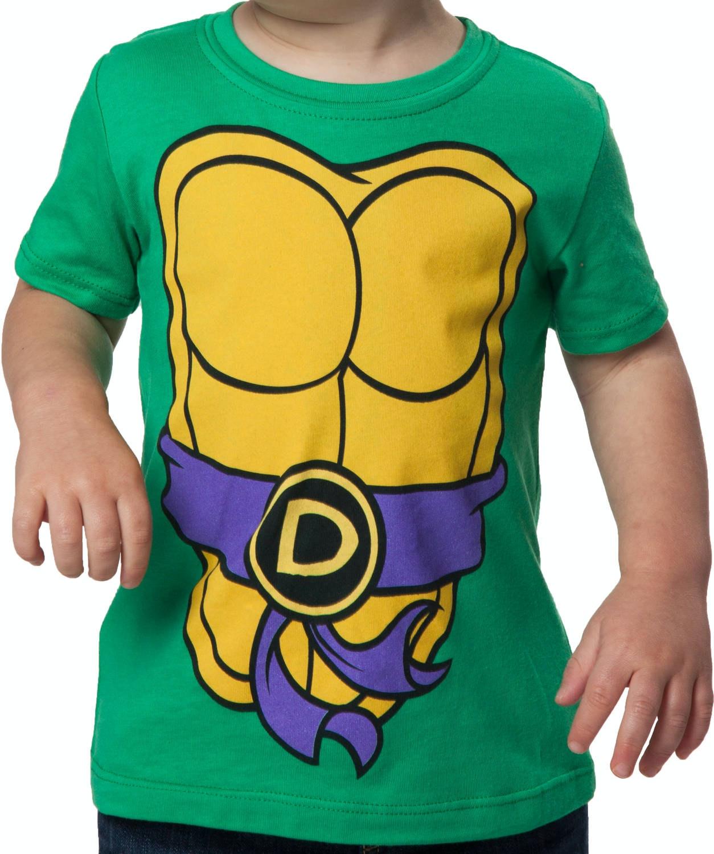 Kids Donatello TMNT Costume Shirt & Kids Donatello Teenage Mutant Ninja Turtles T-Shirt