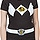 Ladies Black Ranger Costume Shirt