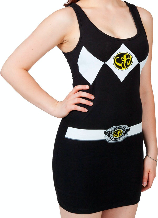 Ladies Black Ranger Tank Dress