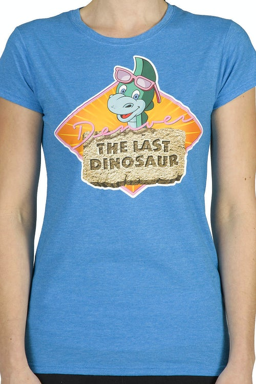 Ladies Denver the Last Dinosaur Shirt