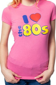 Ladies I love 80s Shirt