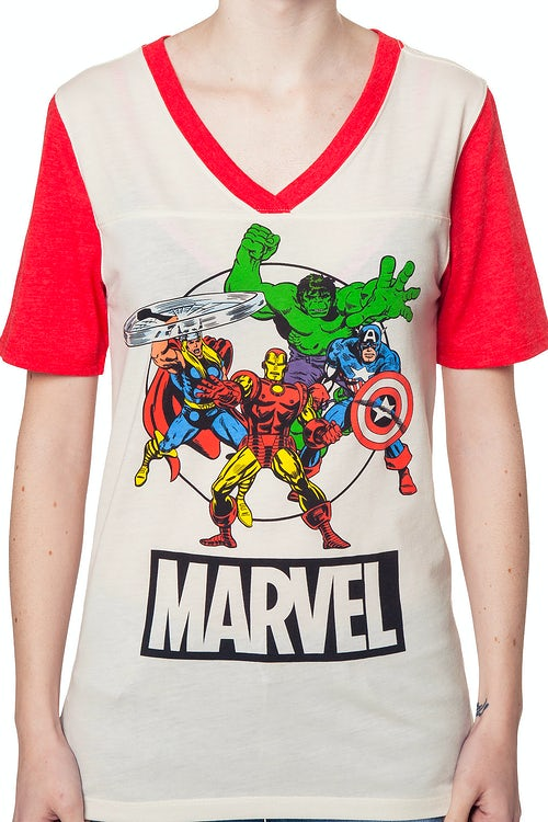 Ladies Marvel Avengers Shirt