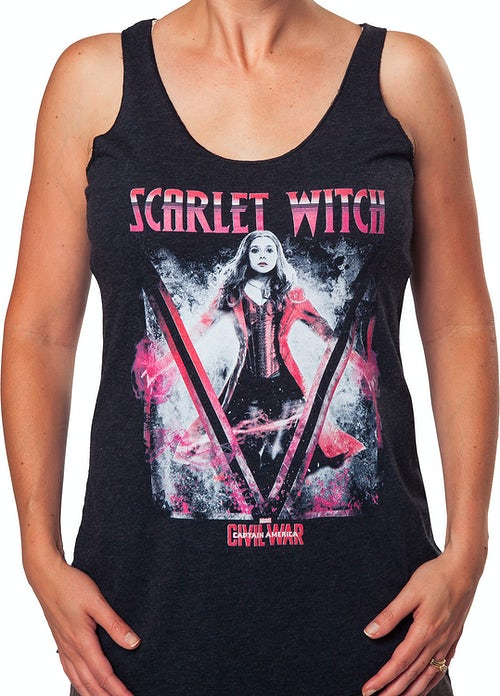 Ladies Scarlet Witch Tank Top