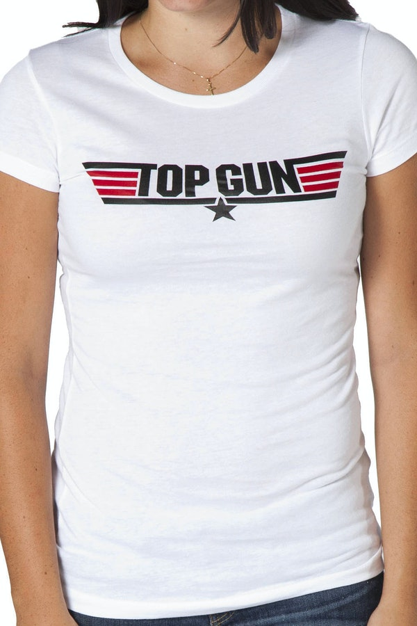 Ladies Top Gun Logo Shirt
