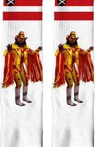 Legend Macho Man Randy Savage Socks