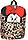 Leopard Print Minnie Mouse Backpack