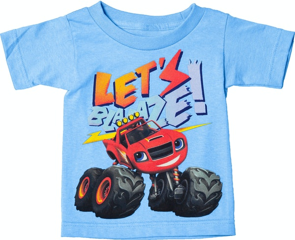 Light Blue Blaze and The Monster Machines Shirt From Hit ...