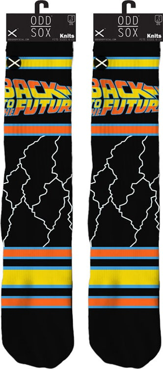 Lightning Back To The Future Socks