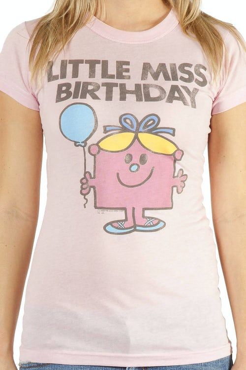 Little Miss Birthday shirt