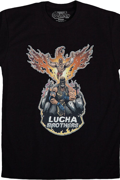 Lucha Brothers Luchador T-Shirt