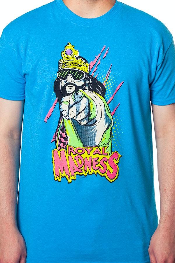 Macho Clothing Co: Macho King Randy Savage T-Shirt: Randy Savage Mens T-Shirt