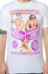 Macho Man Ricky Steamboat WrestleMania T-Shirt