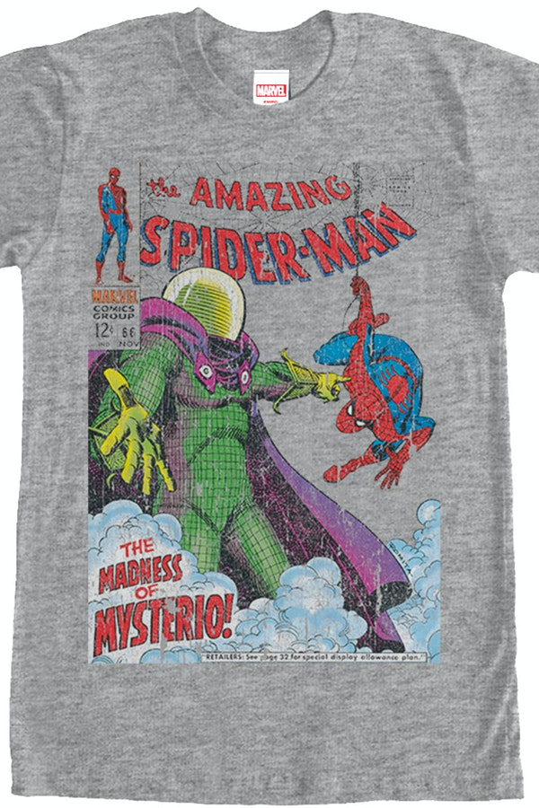 Madness of Mysterio Spider-Man T-Shirt