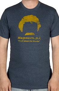 Magnum PI All About The Stache T-Shirt