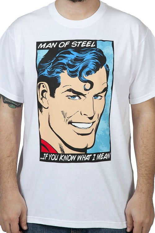 Man of Steel Superman Shirt