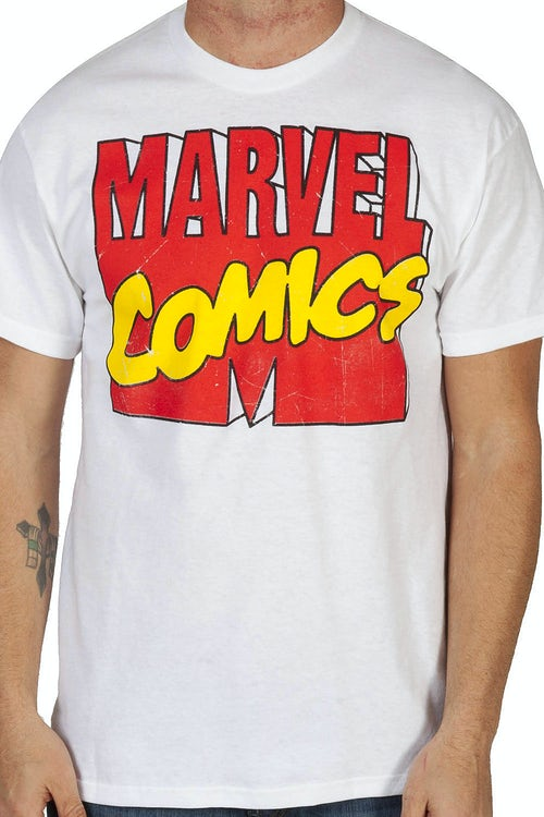 Marvel Comics Logo Shirt