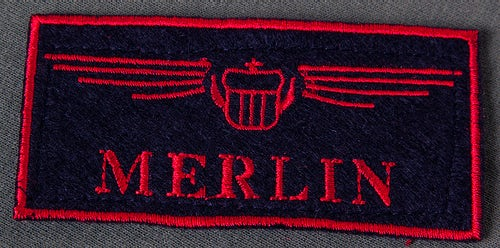 Merlin Call Name Patch
